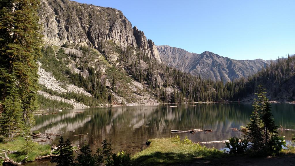 Granite Lake.