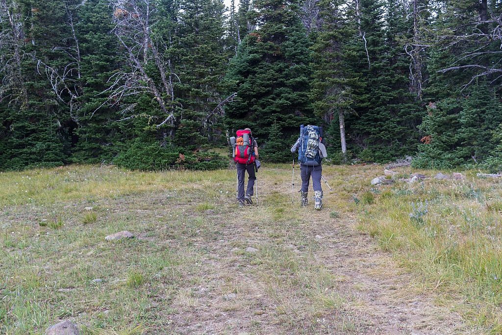 After about 3.6 miles of hiking we made it to the trailhead.
